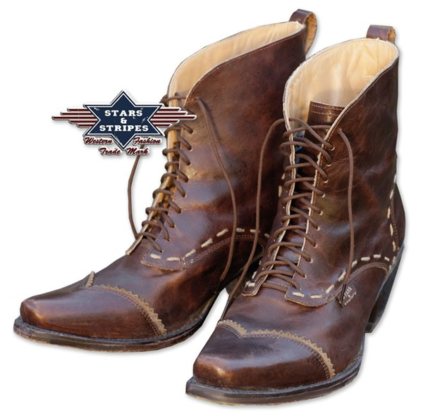 Bild von Damen-Westernboots Ashley braun